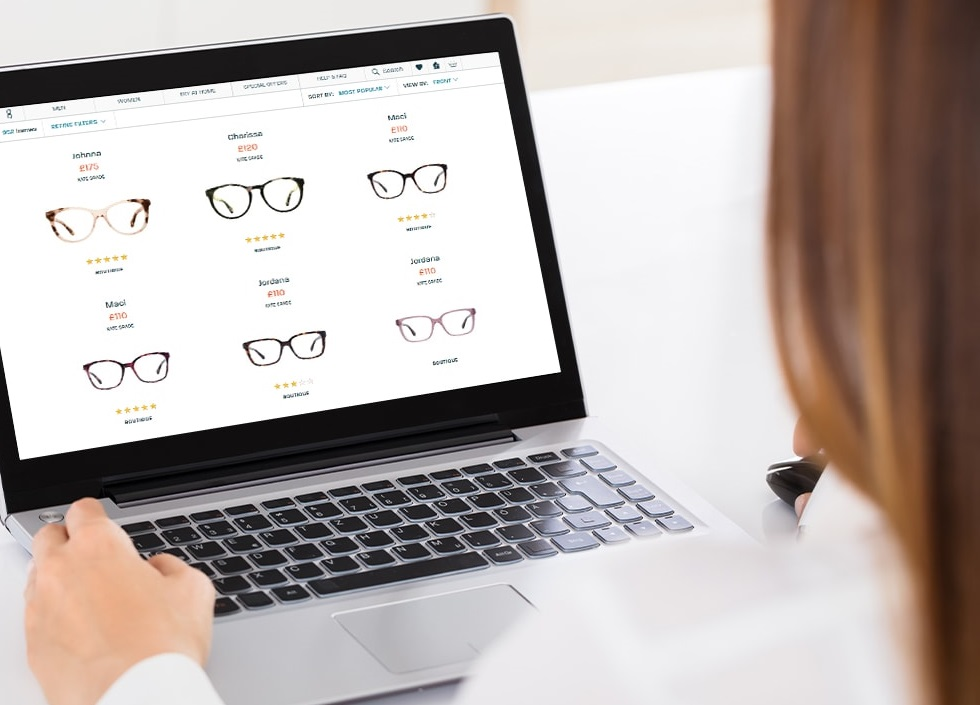 search-sunglasses-on-laptop How to Become a Sunglasses Designer?