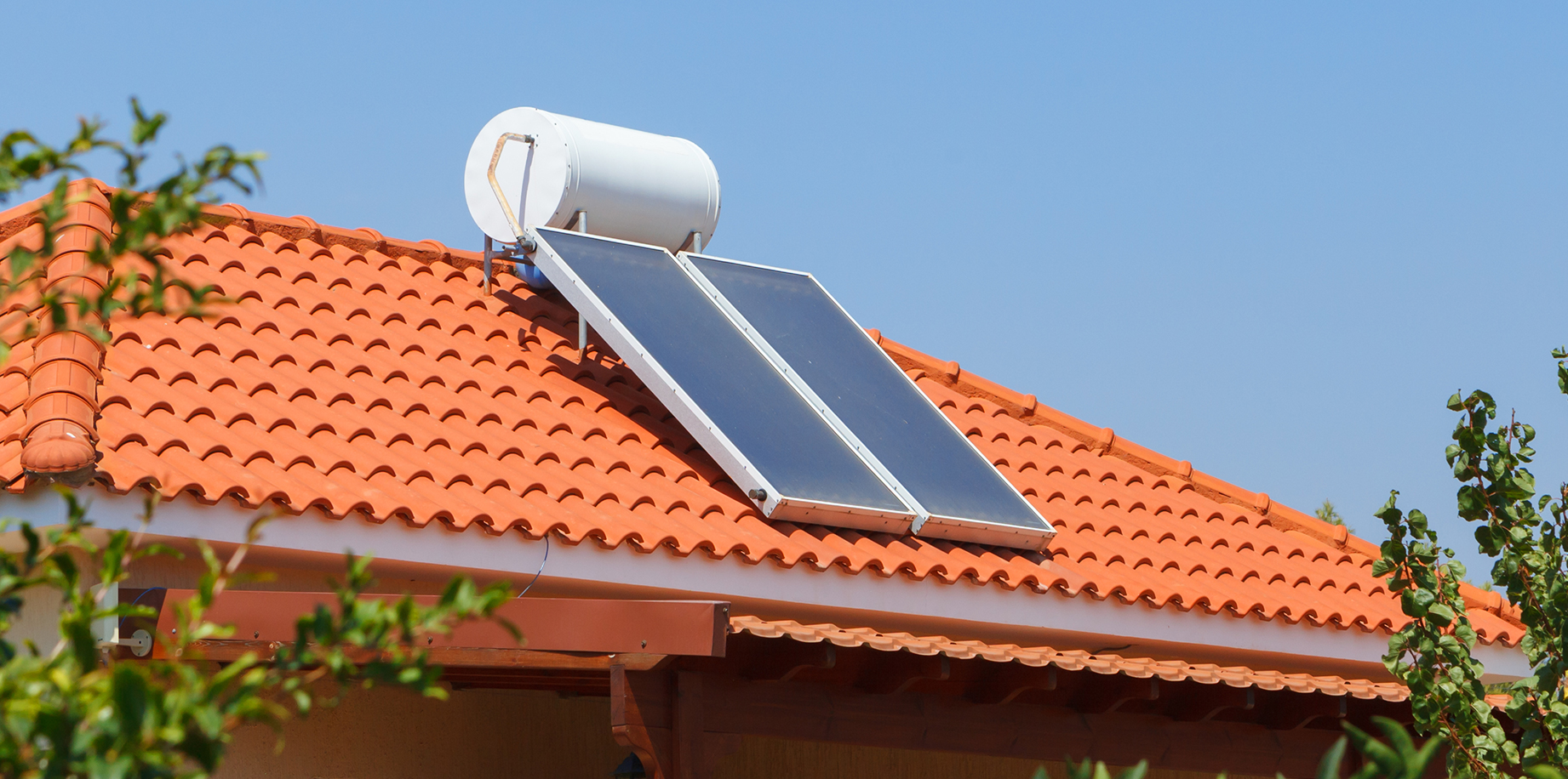 solar-powered-water-heater Water Heaters- Which Type Is the Right One for Your Home?