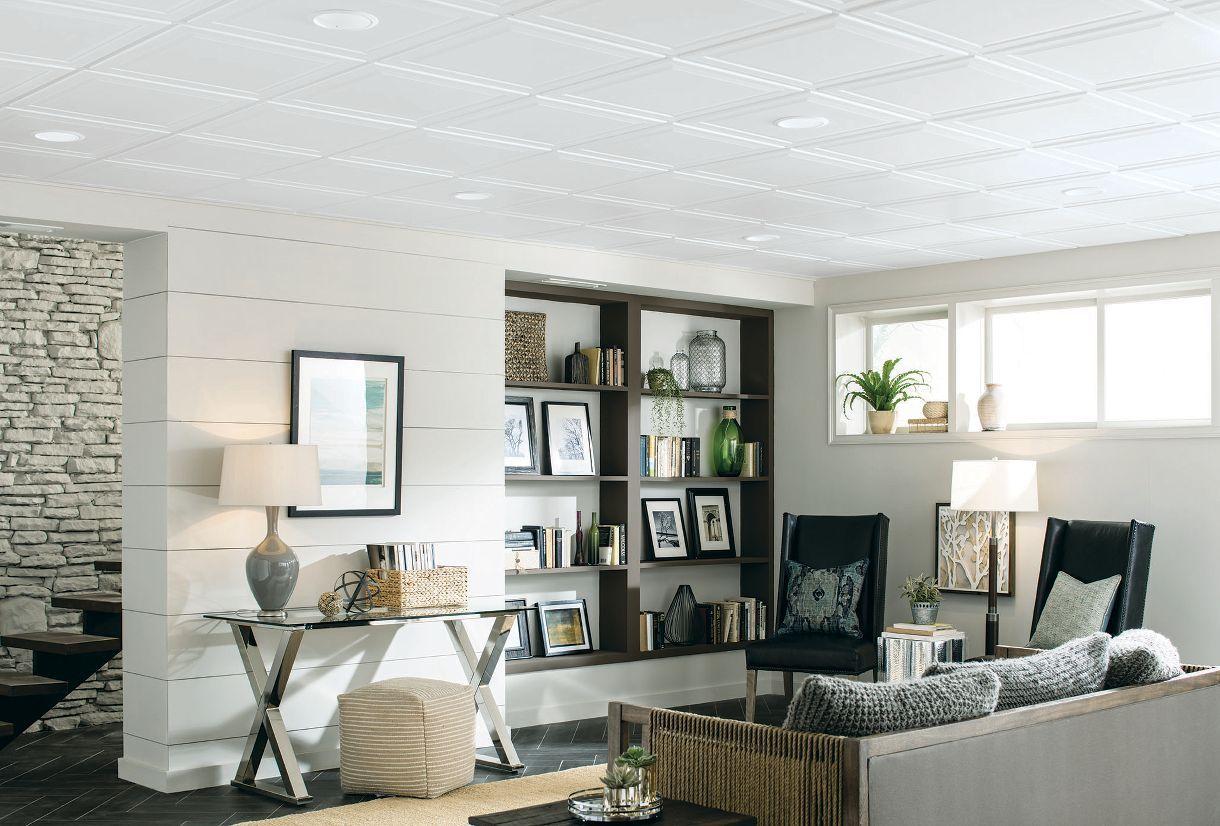 tiles-1 +70 Unique Ceiling Design Ideas for Your Living Room