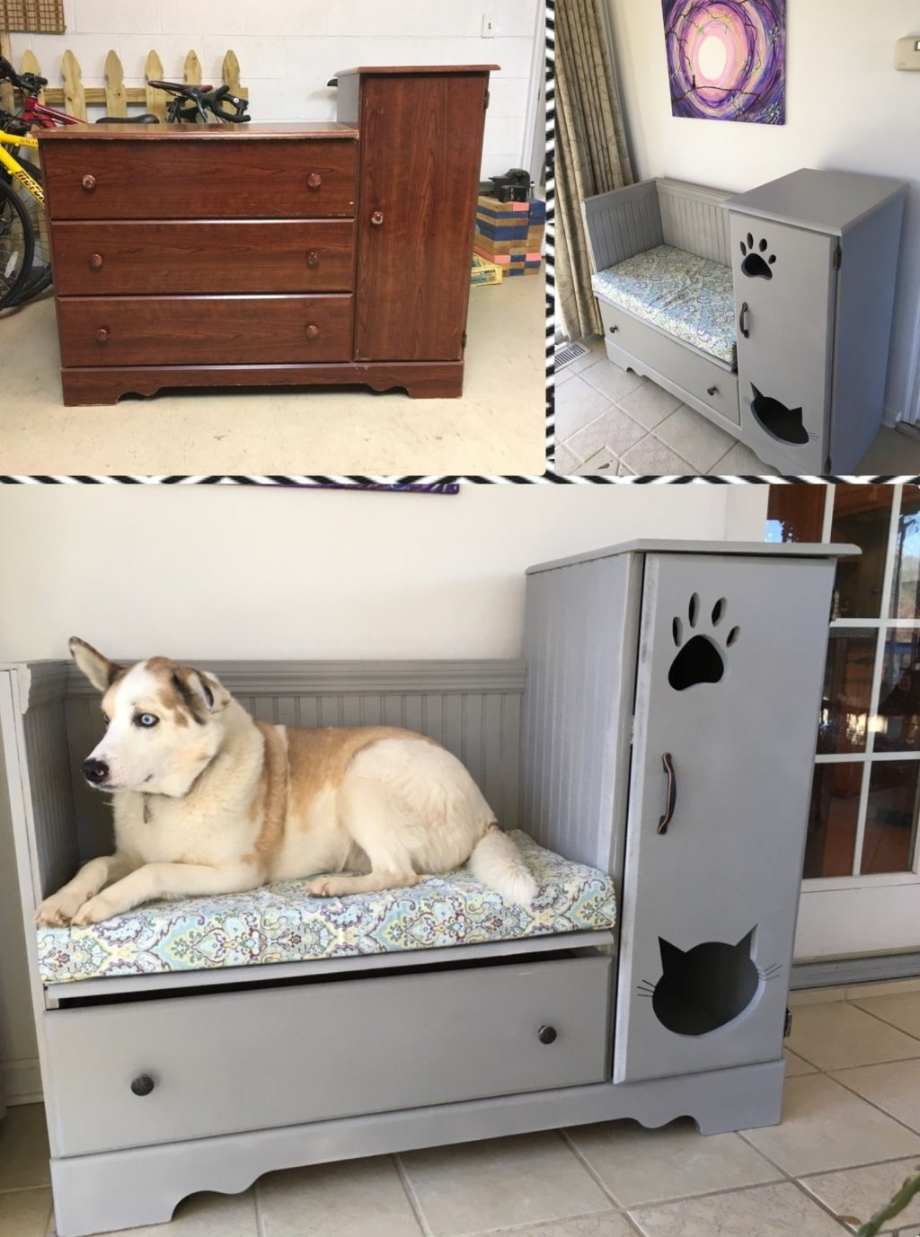 used-closet.-1-1024x1377 +80 Adorable Dog Bed Designs That Will Surprise You