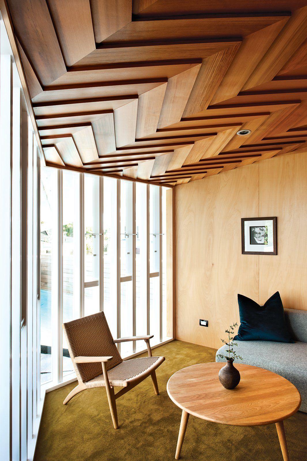 wooden-ceiling-design +70 Unique Ceiling Design Ideas for Your Living Room