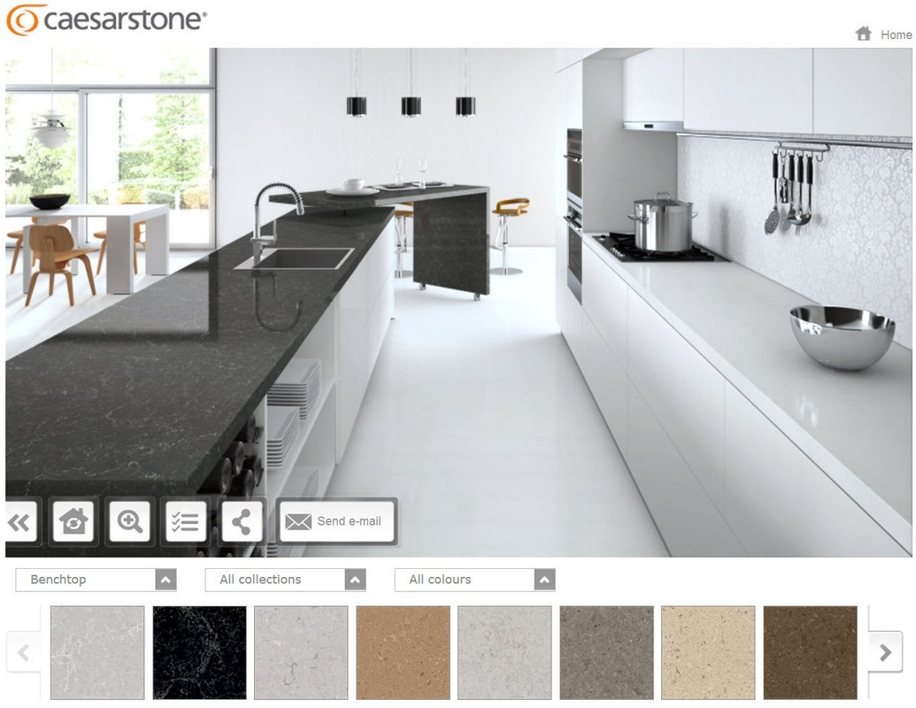 Caesarstone-Visualizer-app 10 Best Online Interior Design Apps