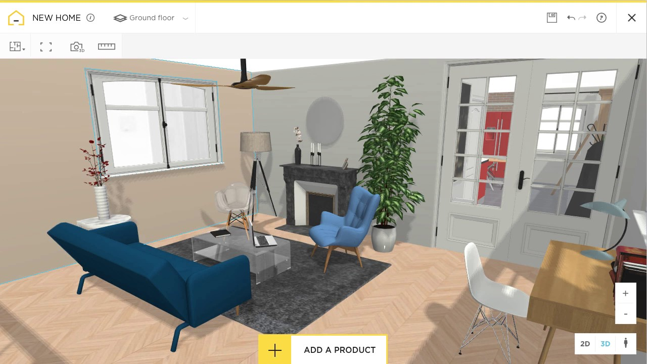 HomeByMe-app 10 Best Online Interior Design Apps