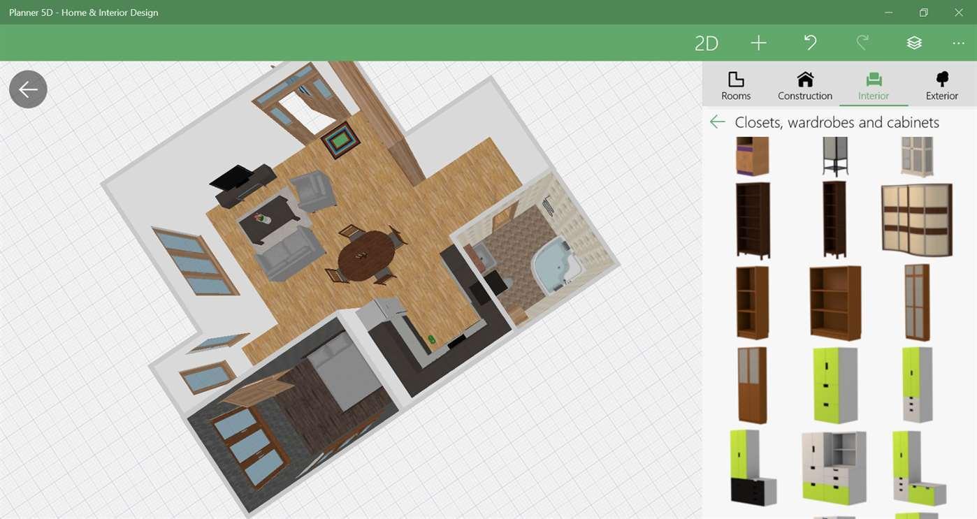 Planner-5D-app 10 Best Online Interior Design Apps