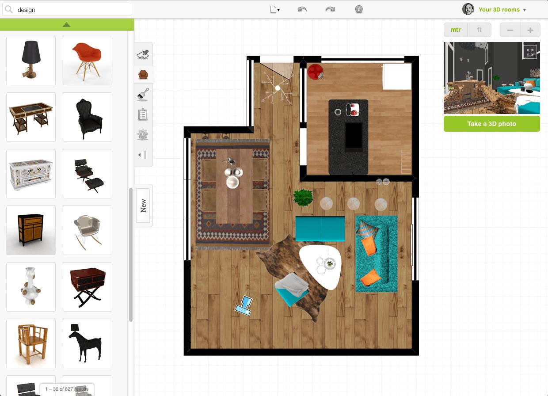 Roomstyler-app 10 Best Online Interior Design Apps