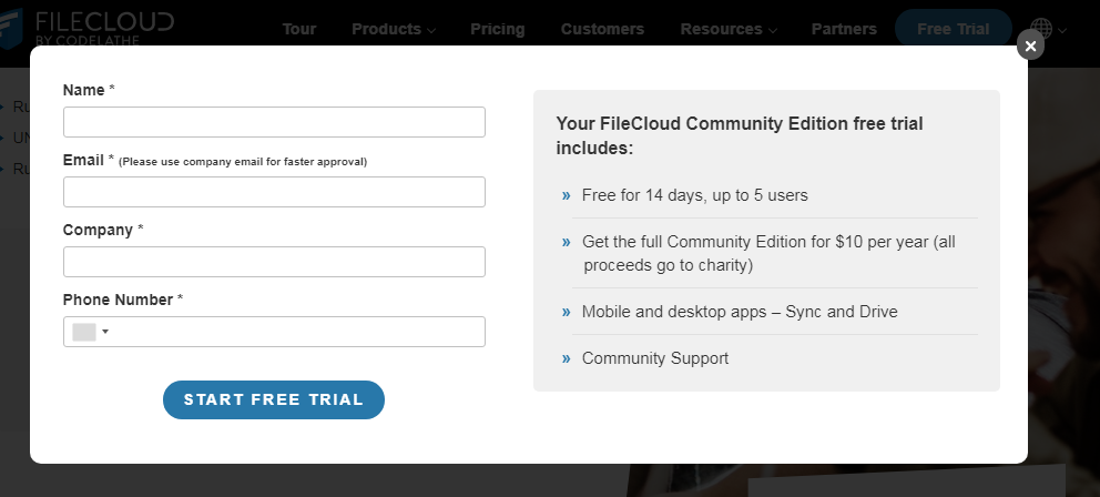 Step-2 FileCloud Community Edition Review