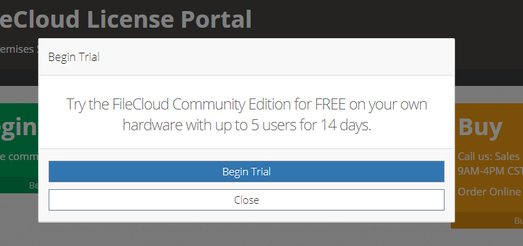 Step-4 FileCloud Community Edition Review