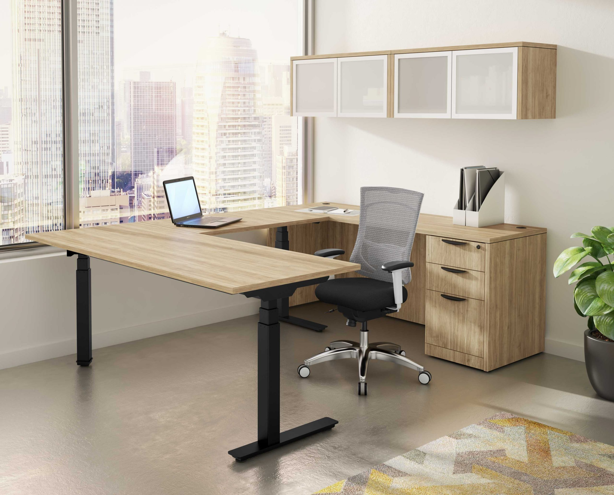 U-Shaped-Standing-Desk-1 Electric Standing Desks: Which Type Is the Right One for Your Home Office?