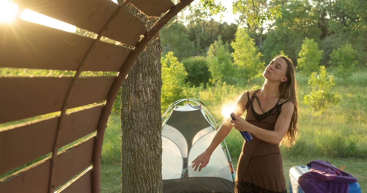 Wear-Bug-Spray Are You a First-time Camper? These Tips Will Help You Stay Safe