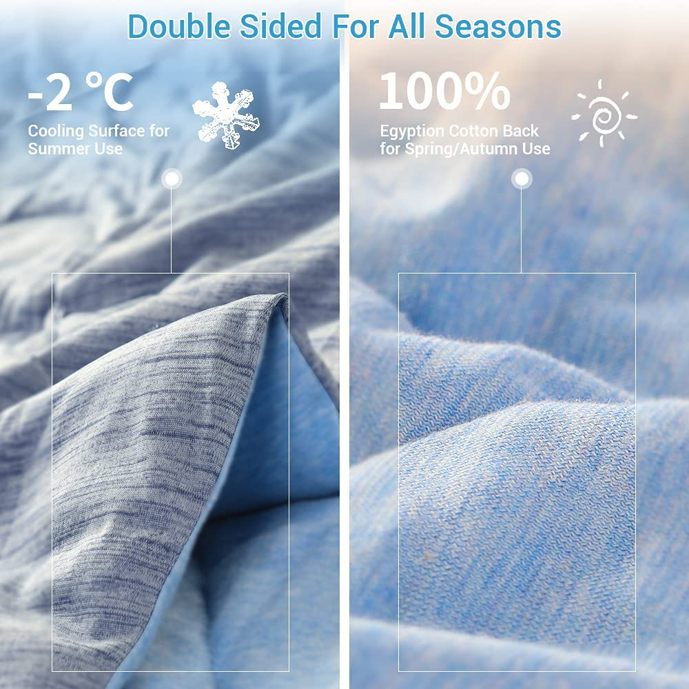 Luxear-Arc-chill-Cooling-Comforter. Buy Luxear Arc-Chill Cooling Bedding for Hot Sleepers