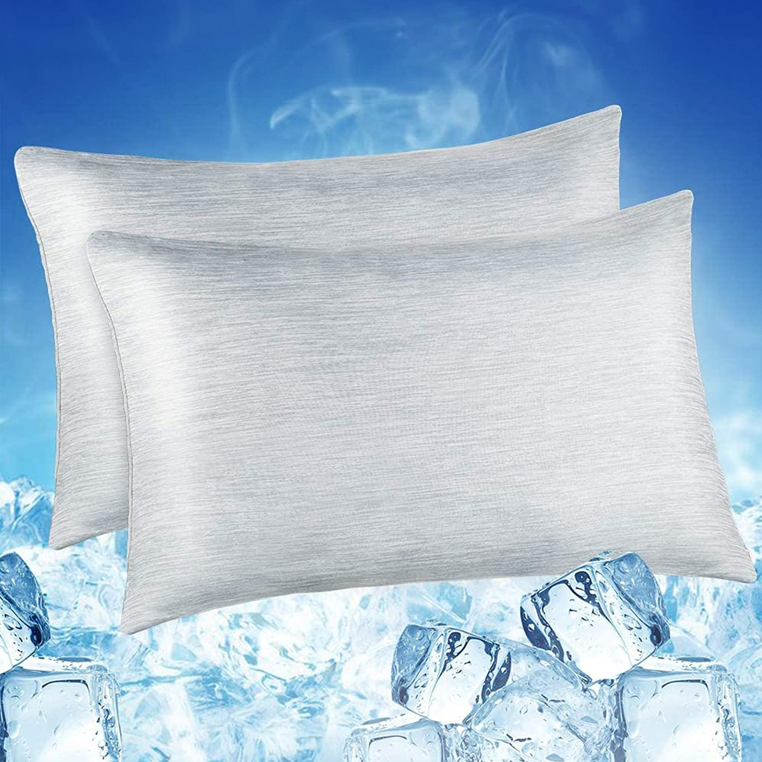 Luxear-Arc-chill-Cooling-Pillowcases Buy Luxear Arc-Chill Cooling Bedding for Hot Sleepers