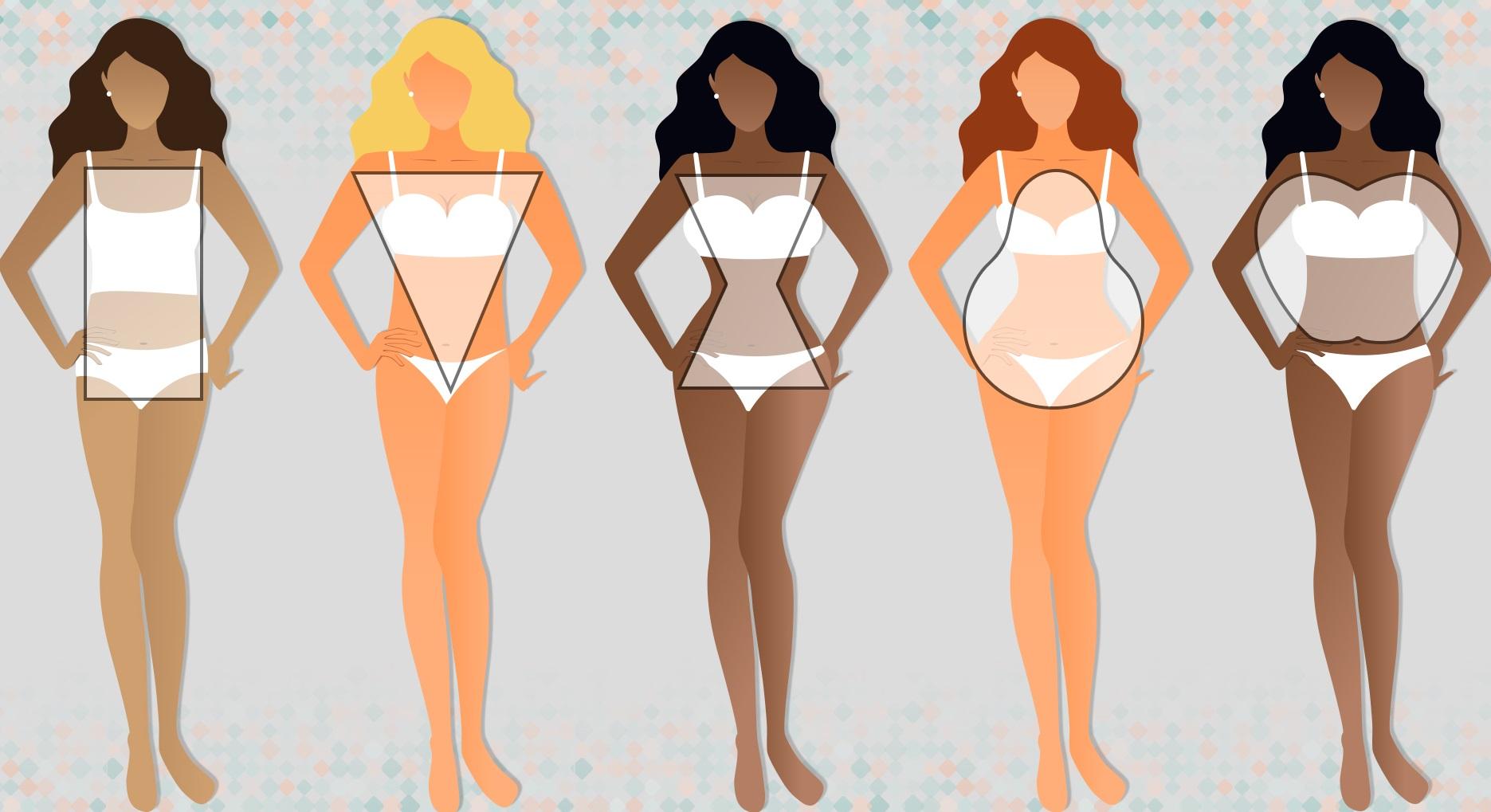 body-types-1 10 Secrets of Dressing According to Body Type