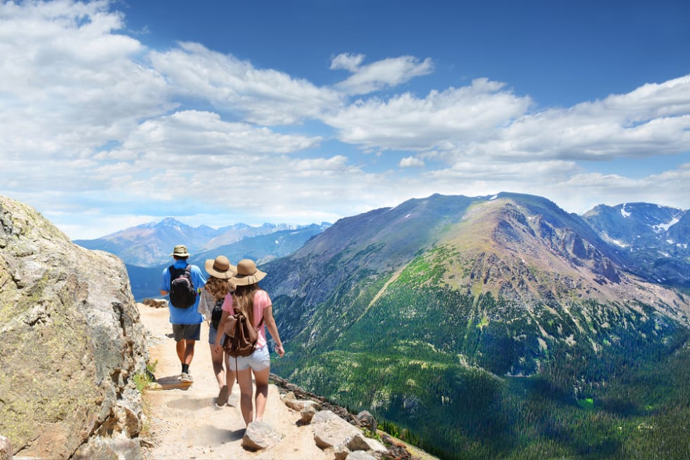 Family-Hiking-Trip 3 Great Ways to Spend More Time Outdoors This Summer