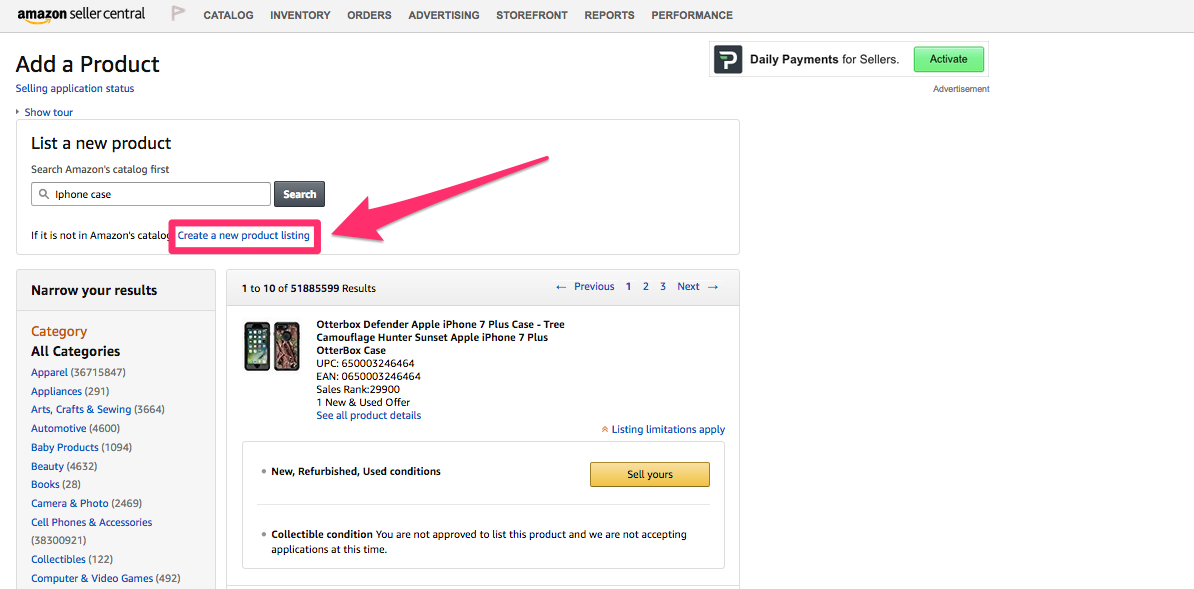 Add-a-product-on-amazon How to Start Selling on Amazon?