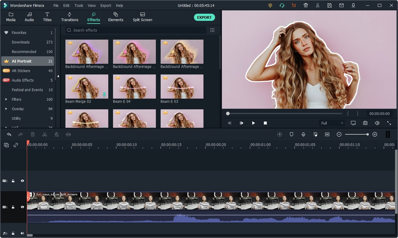 AI-Portrait How to Find Best YouTube Video Editor