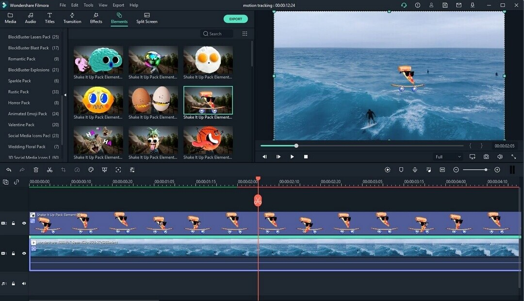 Motion-tracking How to Find Best YouTube Video Editor