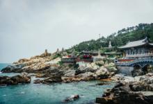 South Korean Busan Beach