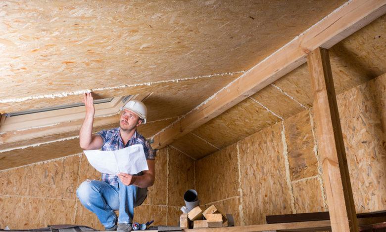 hole attic