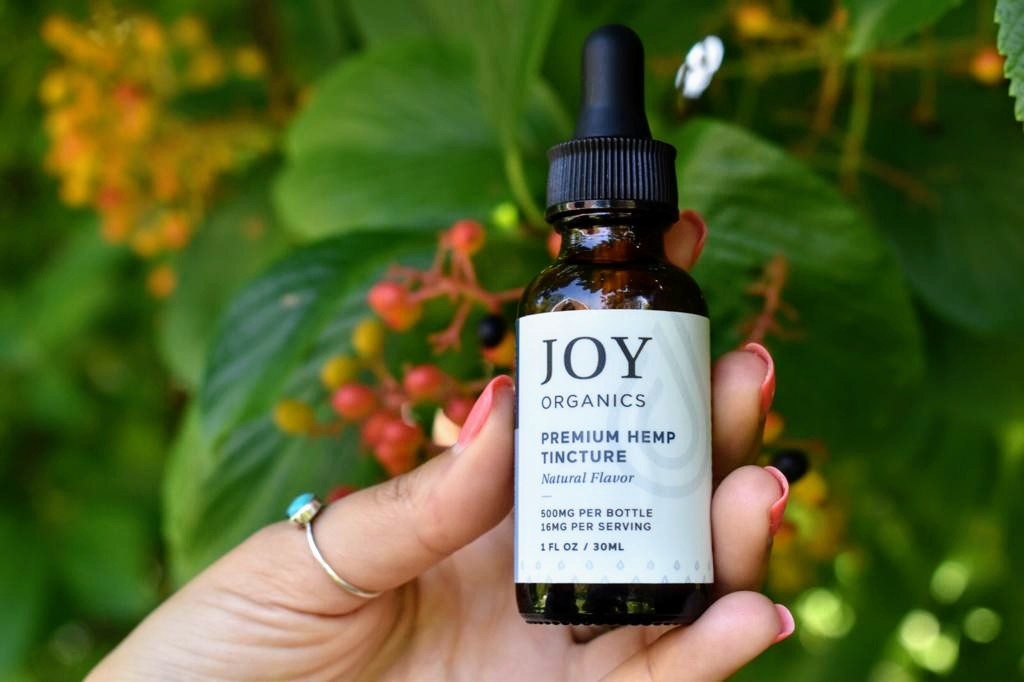 Joy-Organics-Full-Spectrum-CBD-Tincture 5 Best CBD Tinctures for Anxiety