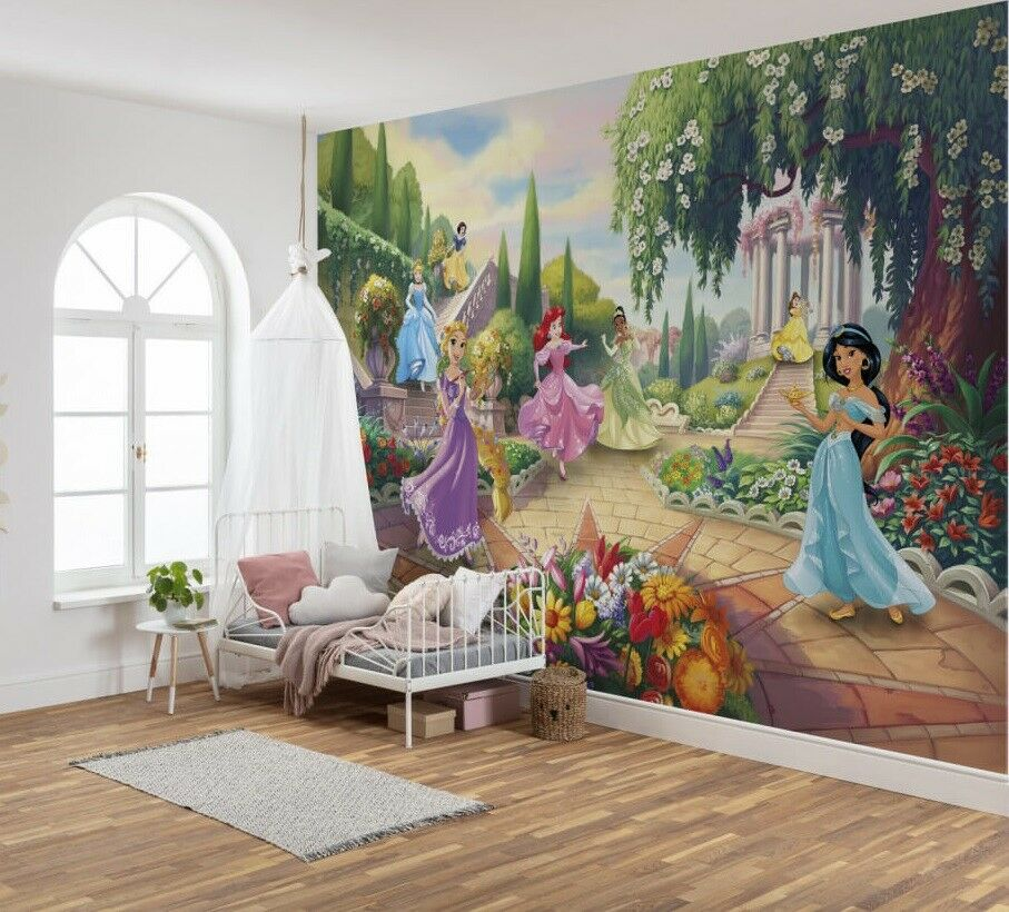 Wallpapers-used-for-artwork 10 Cute Ways to Use Removable Wallpaper for Your Kid's Bedroom