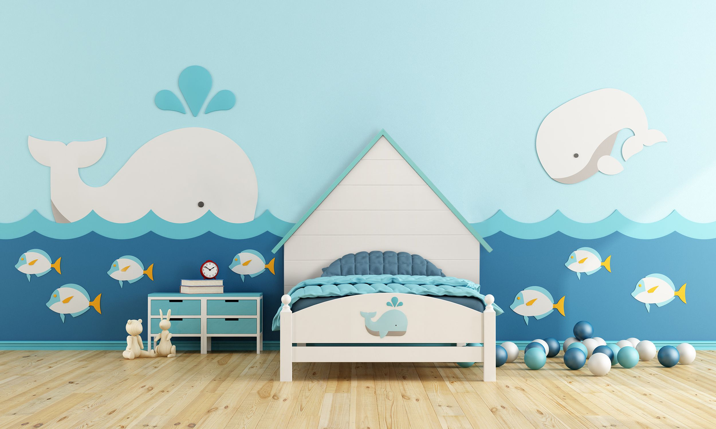 funny-wallpaper 10 Cute Ways to Use Removable Wallpaper for Your Kid's Bedroom