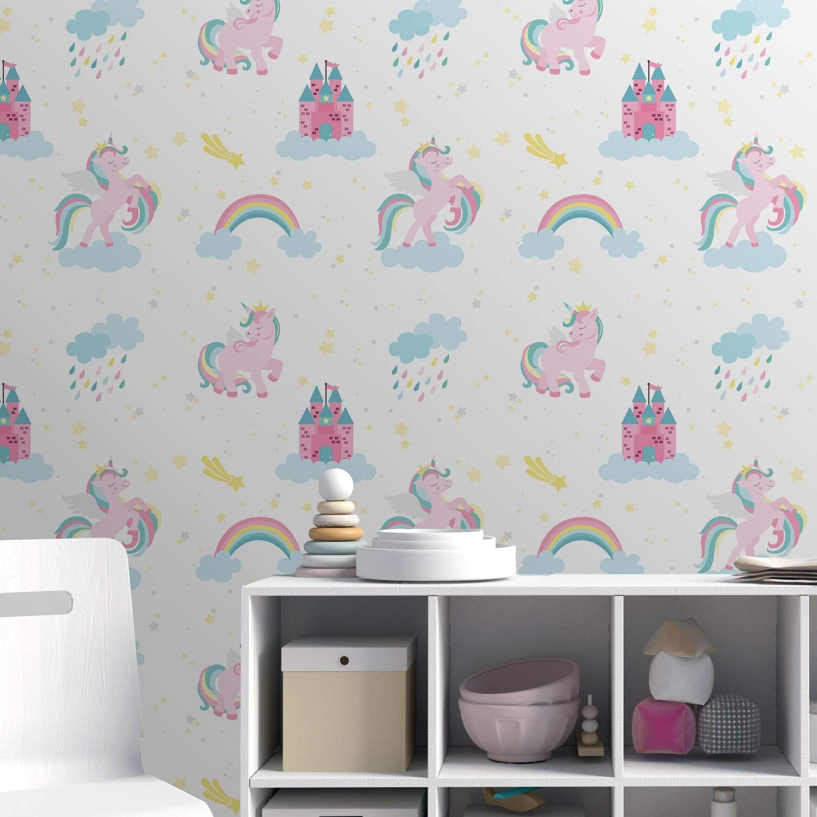 kids-wallpaper 10 Cute Ways to Use Removable Wallpaper for Your Kid's Bedroom