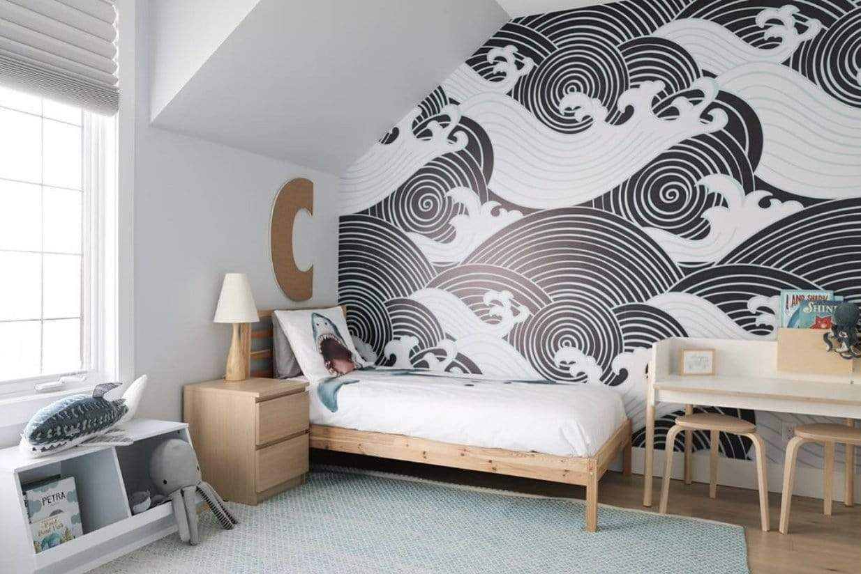 peel-and-stick-wallpaper-for-kids 10 Cute Ways to Use Removable Wallpaper for Your Kid's Bedroom