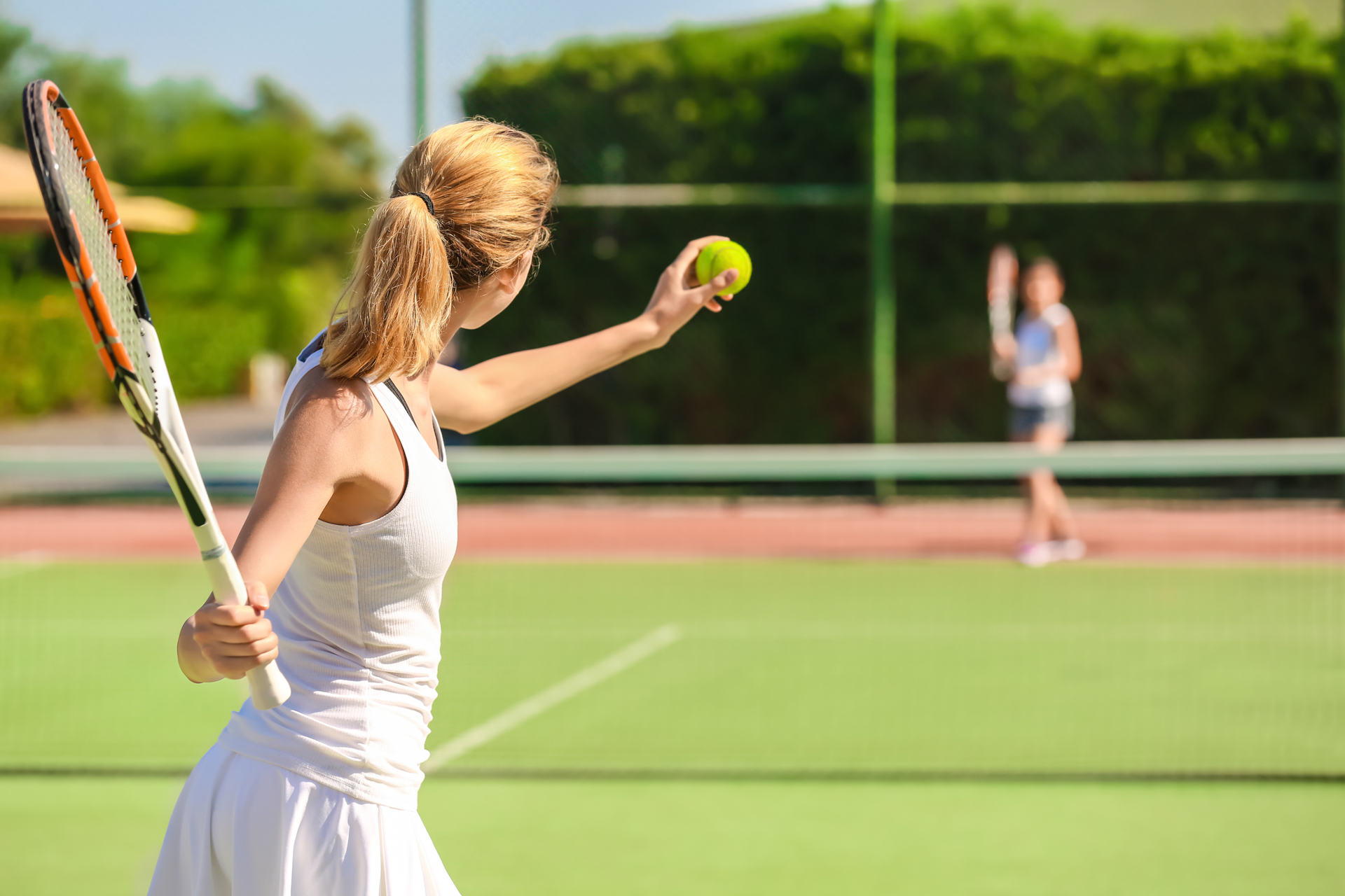 tennis Staying Active Outdoors This Summer