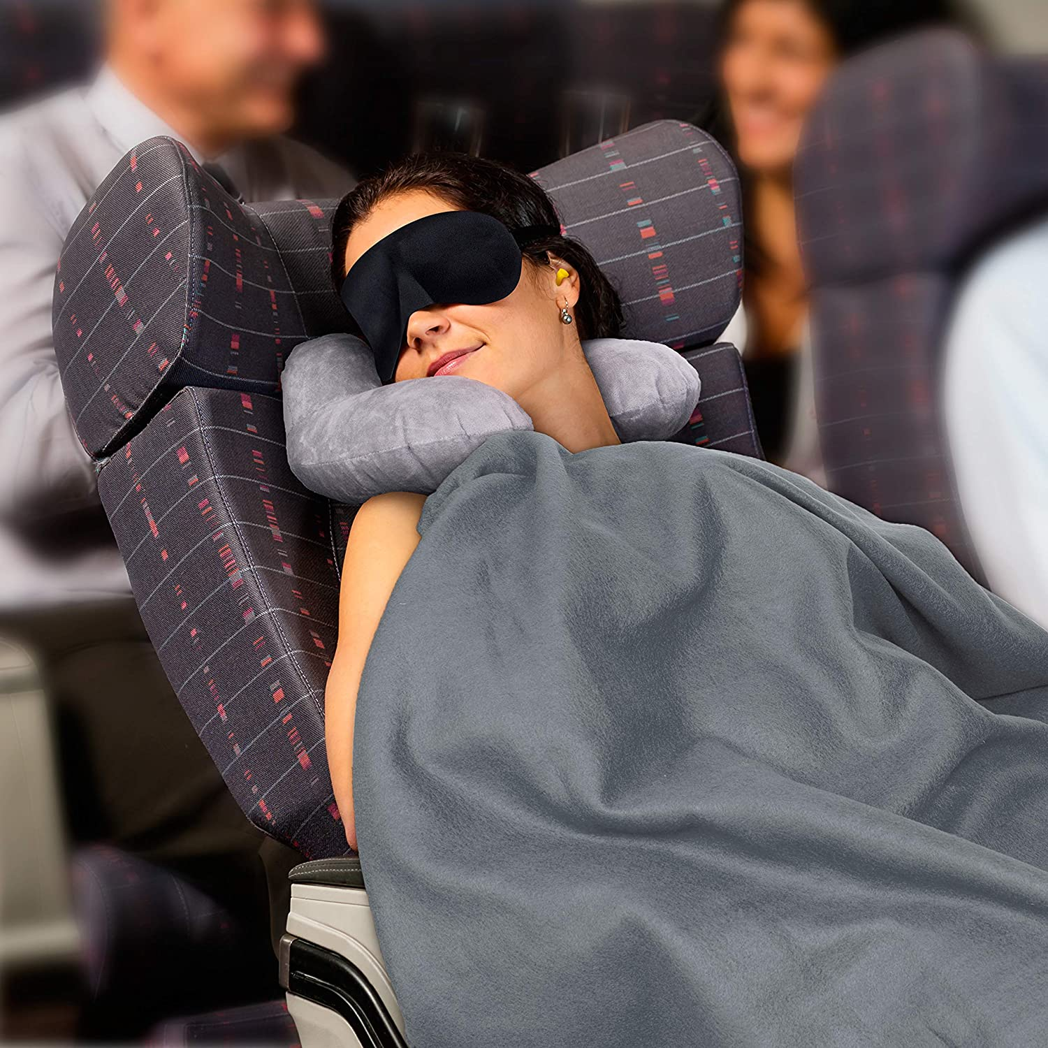 travel-blanket Travel Hacks: How to Sleep Better While You're Traveling
