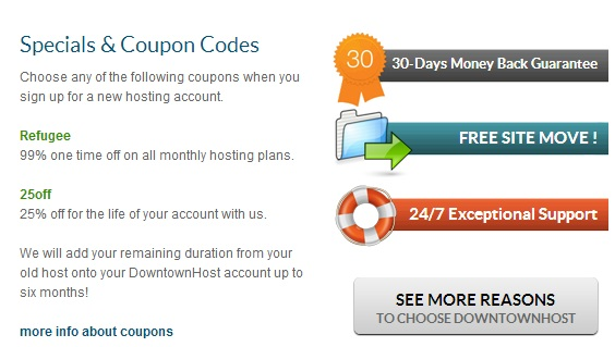 down Downtownhost.com Hosting Review!