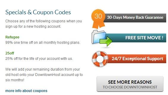 down Downtownhost.com Hosting Review!