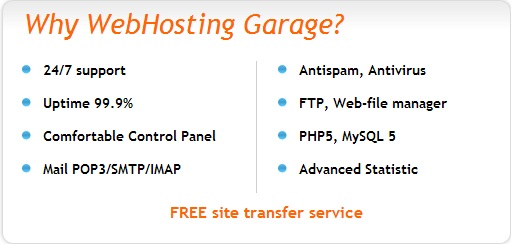 garage WebHosting-Garage.com Hosting Review !