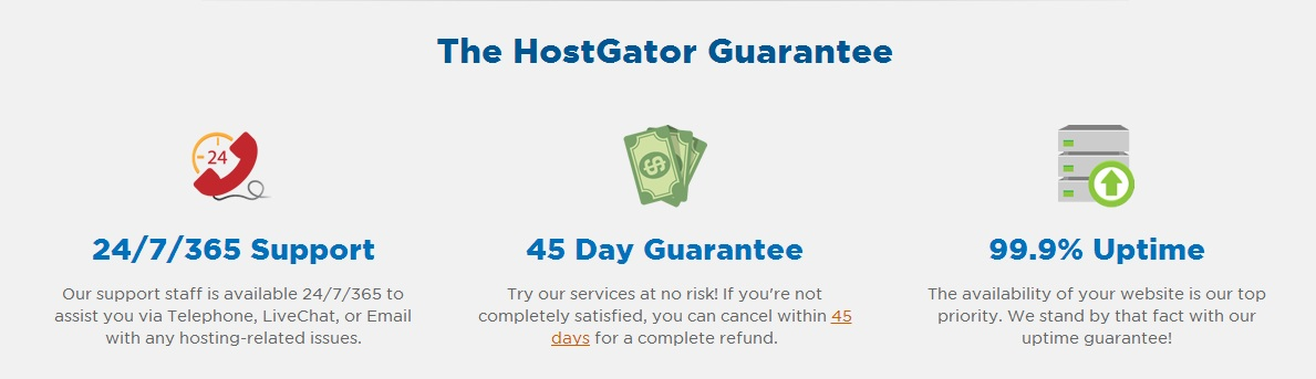 gurantee HostGator Review (Cons & Pros, Uptime & Speed in 2021)