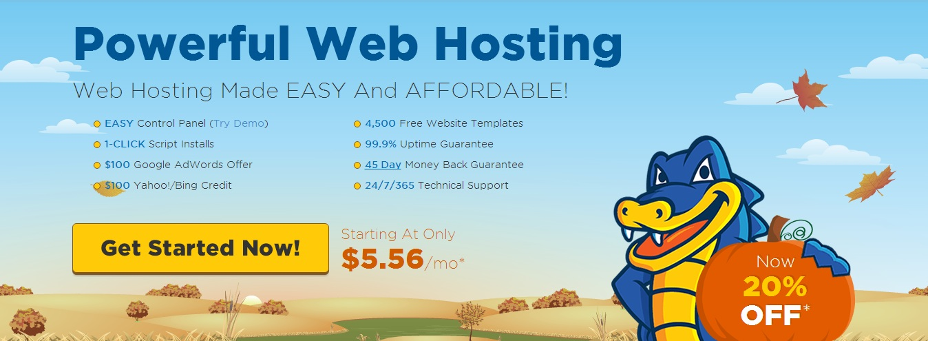 hostg HostGator Hosting Reviews ! 20% off the initial web hosting order with a coupon code!