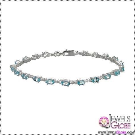 0.925-SILVER-SKY-BLUE-TOPAZ-TENNIS-BRACELET Blue Topaz Tennis Bracelet