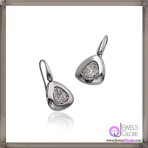 14ct-white-gold-and-silver-Roberto-Coin-Capri-plus-icy-diamond-earrings Best 18 Roberto Coin Earrings Designs