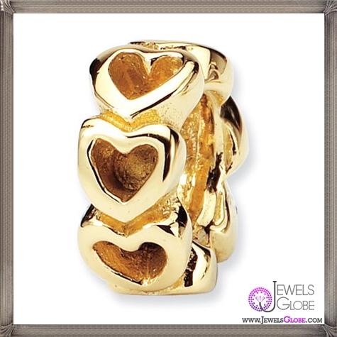 14k-Heart-Charm-Bead-Fits-Pandora-Chamilia-Biagi-Bracelet Pandora Jewelry and Its Top Stores