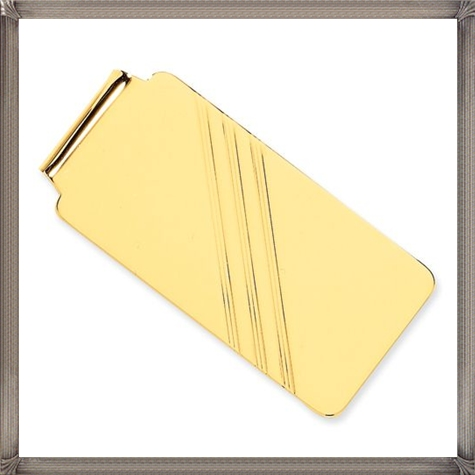 14k-Money-Clip-Solid-Polished-14k-Yellow-gold The 25 Most Popular Gold Money Clip Designs
