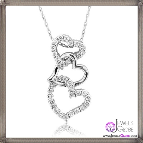 14k-White-Gold-Diamond-Heart-Pendant-Necklace The 28 Best Diamond Heart Necklaces & Pendants For Women and Buying TIPS