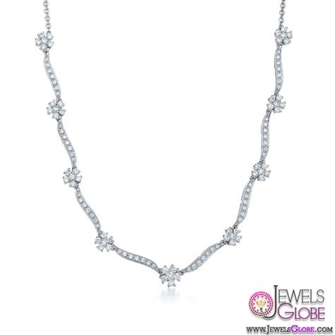 18K-white-gold-Diamond-necklace-from-Whisper-Collection Best 10 Cheapest Diamond Necklaces For Sale
