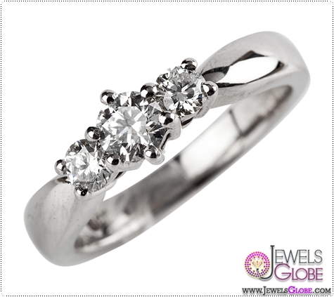 18ct-white-gold-3-stone-engagement-ring 3 Stone White Gold Engagement Rings for Women