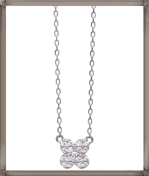 18ct-white-gold-necklace-featuring-an-adjustable-chain-with-diamond The 13 Most Stylish White Gold Necklaces For Women and Choice TIPS