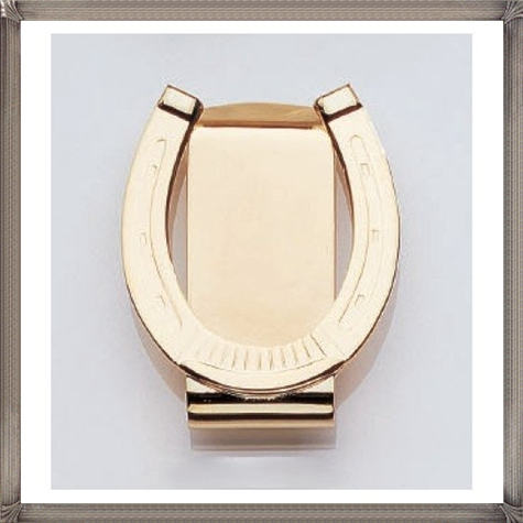 23K-Gold-Electroplated-Horseshoe-Money-Clip The 25 Most Popular Gold Money Clip Designs