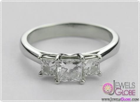 3-stone-18-carat-white-gold-princess-cut-engagement-ring 3 Stone White Gold Engagement Rings for Women