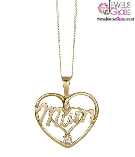 9-Carat-Yellow-Gold-Heart-Shaped-Pendant-women-design The 29 Most Popular Gold Pendant Designs For Women