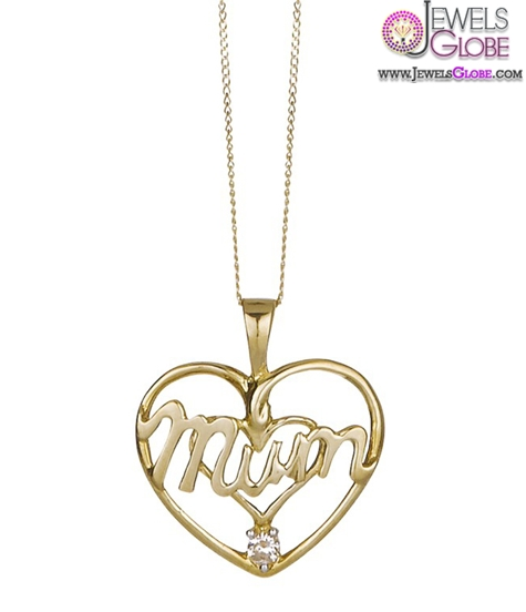 9-Carat-Yellow-Gold-Heart-Shaped-Pendant-women-design The 29 Most Popular Gold Pendant Designs For Women