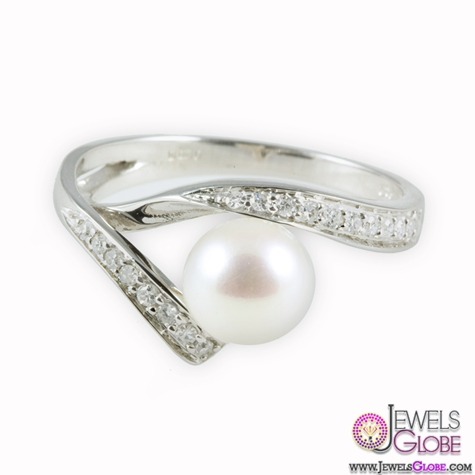 9ct-White-Gold-Diamonds-and-Cultured-Pearl-Ring-for-Sale Top Pearl Rings For Sale
