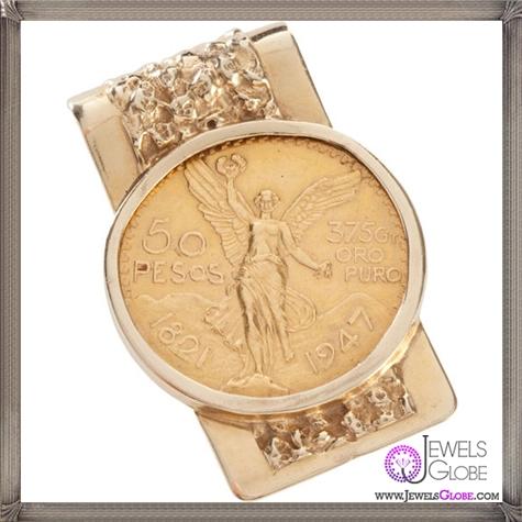 A-14K-Gold-Money-Clip The 25 Most Popular Gold Money Clip Designs