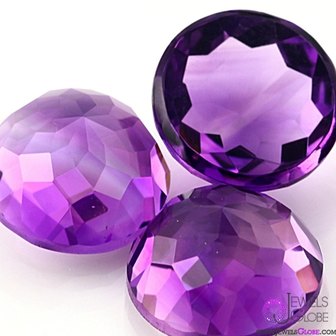 Amethyst-Brazilian-Cabochon-10mm-Rose-Cut-Round 10 Hidden facts about Gemstones That You Must Know