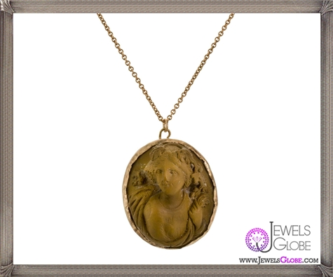 Antique-Italian-Lavastone-Cameo-Pendant-Necklace The 13 Most Stylish Cheap Cameo Necklaces